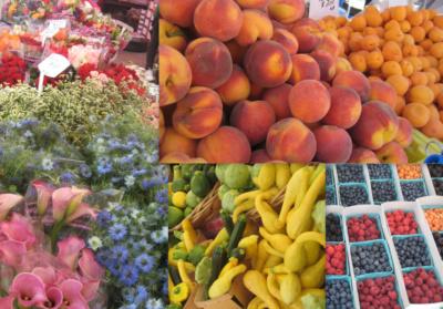 Famous Santa Monica Farmers Market
